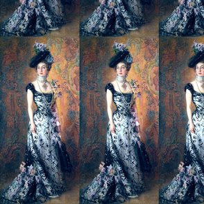 victorian edwardian big hats beautiful young woman lady purple flowers floral lace 19th 20th century beauty black white gown applique pearls chokers vintage antique elegant gothic lolita egl romantic portrait