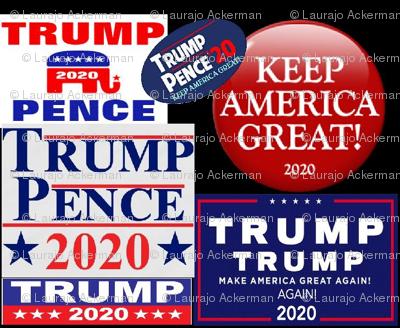 Trump Pence 2020 Keep America Great