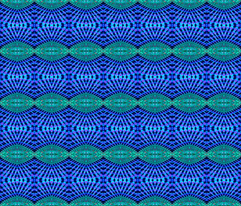 Cool Magic Rippled Diamonds fabric by just_meewowy_design on Spoonflower - custom fabric