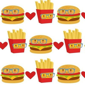 Smart Burger and Fries