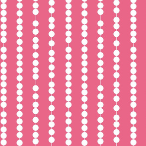 Pearl Stripes Tropical Pink