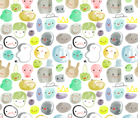 All the Feels fabric by katievernon on Spoonflower - custom fabric