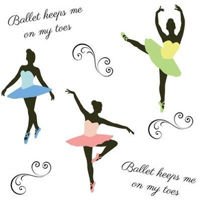 Ballet Keeps Me On My Toes