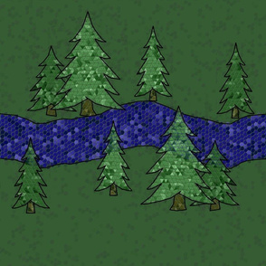 Emerald Forest and Sapphire Stream