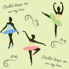 Ballet Keeps Me On My Toes on Green