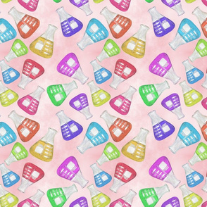 Lab Flange Multicolor