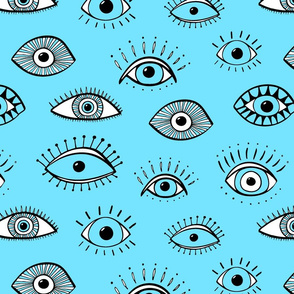 evil eye - turquoise