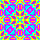 MultiColor kaleidoscope ornaments