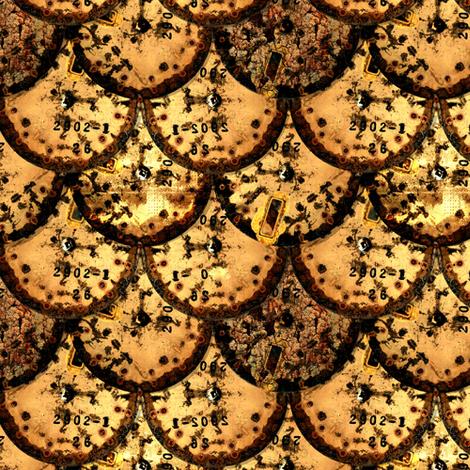 Clock Scales fabric by jadegordon on Spoonflower - custom fabric