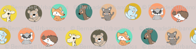 Animal polka dotts 1
