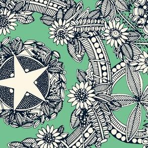 cirque fleur green
