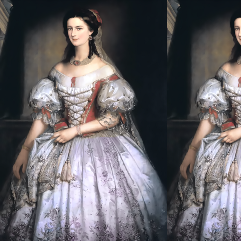 red white gowns flowers floral bride baroque victorian shepherdess inspired bows corset veil wedding lace beautiful lady woman beauty vintage veil antique rococo portraits elegant gothic lolita egl 18th century 19th neoclassical  historical romantic puffy fabric by raveneve on Spoonflower - custom fabric