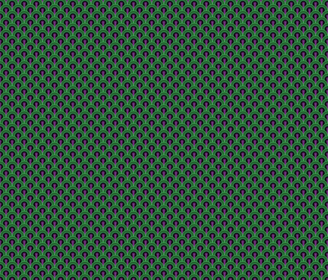 Overlook Hotel Carpet from The Shining: Purple/Green Small fabric by red_wolf on Spoonflower - custom fabric