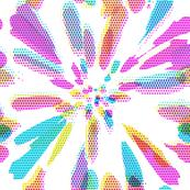 Multicolor sunny rays