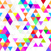 Multicolor Triangle Squares Geometric