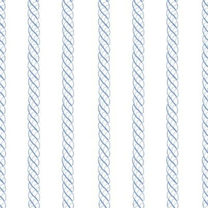 Adrift Nautical Stripe blueberry 1