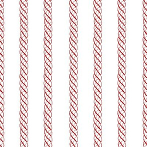 Adrift Nautical Stripe strawberry 1
