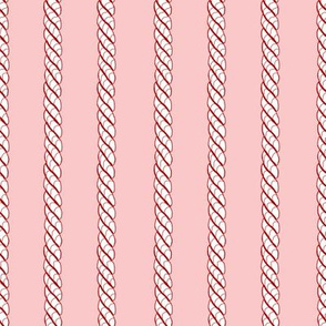 Adrift Nautical Stripe strawberry 3