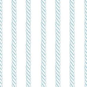 Adrift Nautical Stripe aqua 1