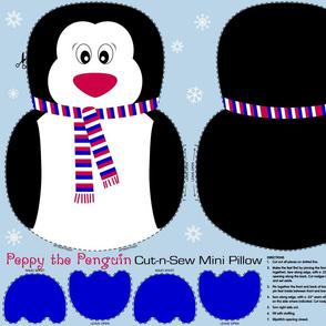Peppy the Penguin Cut and Sew RWB