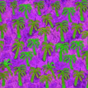 Southwest Palms - Pink