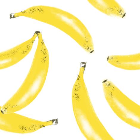 Banana Bunches  fabric by tarareed on Spoonflower - custom fabric