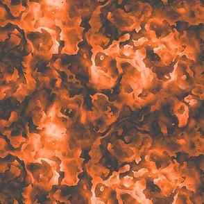 Orange Marbleized Glow