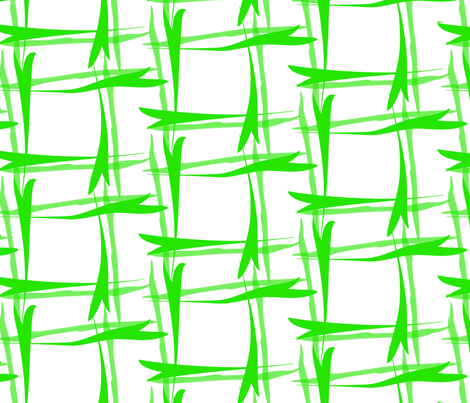 Grass Plaid fabric by house_of_rouse on Spoonflower - custom fabric