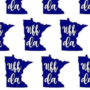 Blue Uff Da Minnesota