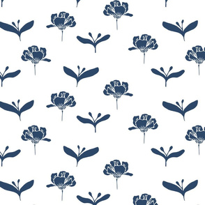 White Navy Poppy