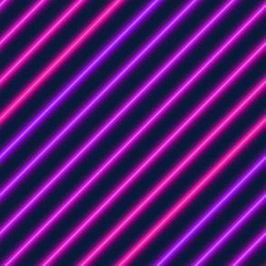 Retro neon pink and purple stripes