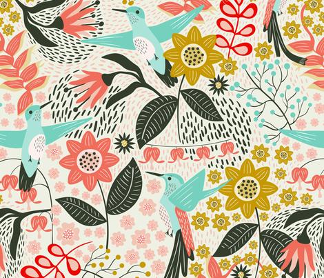 Hummingbird For Wallpaper Large Scale Wallpaper