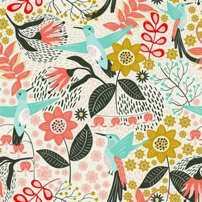Hummingbird for Wallpaper (large scale)