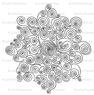 Octagon from spirals