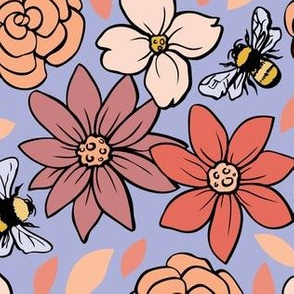 Pollinators (on periwinkle)