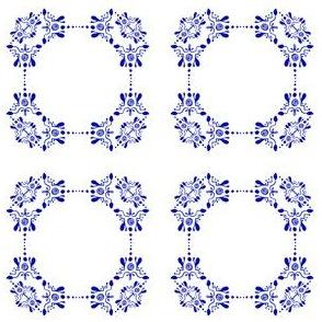 Frames in Mehendi style