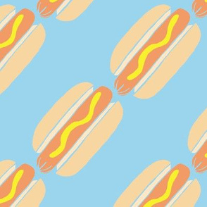 hot dog stripes - 3.5 inch