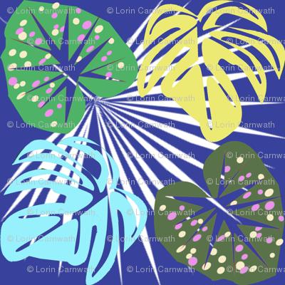 Tropical leaves2