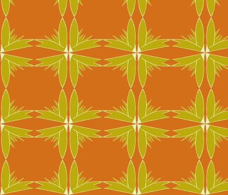 succluent-terra cotta fabric by kae50 on Spoonflower - custom fabric