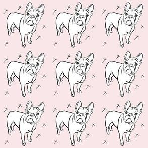 French Bulldog - small scale