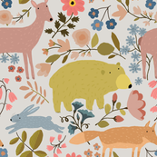 WOODLAND ANIMALS  jumbo