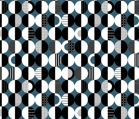 Circle Variations fabric by cate_wilcox on Spoonflower - custom fabric