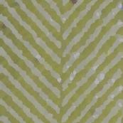 painted herringbone olive