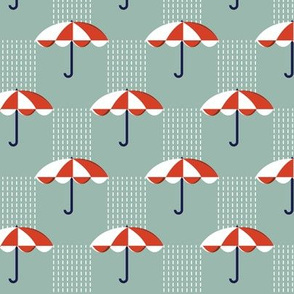 It's Raining Again* (Maxi Camouflage) || umbrella umbrellas spring rain spring preppy Seattle