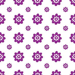 flower pattern redviolet-01