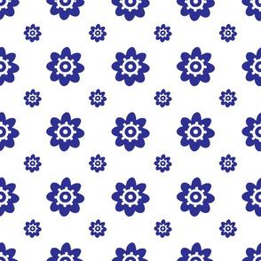 flower pattern blue-01