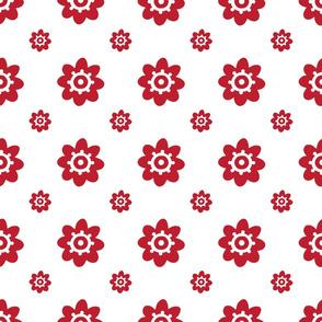 flower pattern red-01