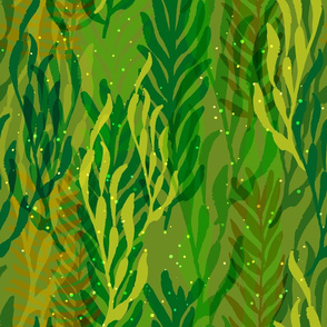 Underwater Forest {Green}
