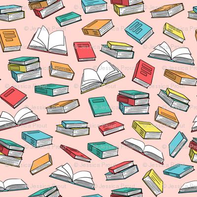 books on pink (slightly larger) C18BS