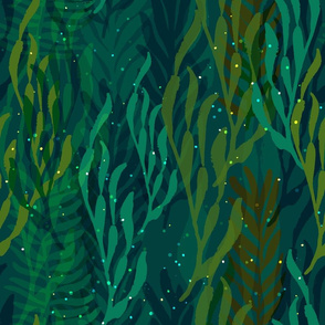 Underwater Emerald Forest